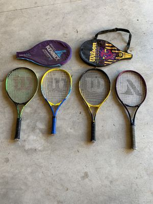 Tennis Rackets $20 for all for Sale in Clackamas, OR