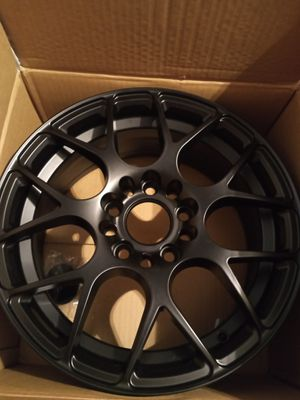 *Brand New* 4 Matte Black Rims -Still in box- for Sale in Akron, OH