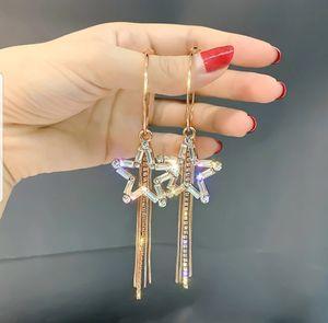 beautiful pentagram shape long tassel earings for Sale in Takoma Park, MD