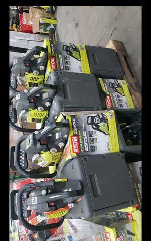 "RYOBI GAS 16""IN CHAINSAW EACH ONE for Sale in San Bernardino, CA"
