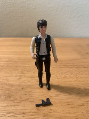 Star Wars Vintage Kenner Han Solo for Sale in Poway, CA