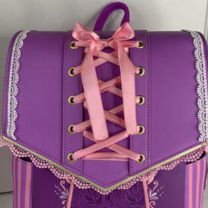 Loungefly Disney Tangled Rapunzel Dress Mini Backpack for Sale in Rosemead, CA