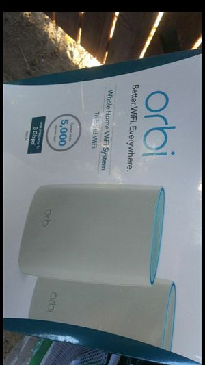 """Orbi: Tri-band WiFi (Whole Home Wifi System) """"Better WiFi. Everywhere."""" for Sale in Riverside, CA"""