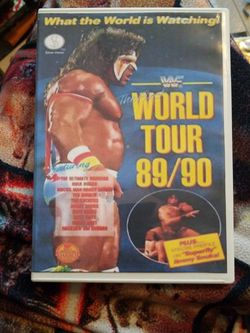 Wwf World Tour 89/90 Dvd for Sale in Chicago,  IL