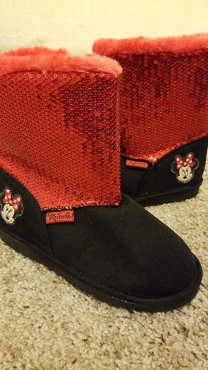 Minnie mouse girls boots for Sale in Green Cove Springs, FL