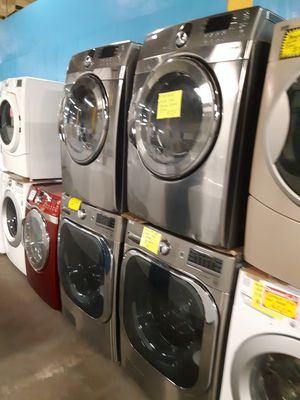 MIX AND MATCH FRONT LOAD WASHER AND DRYER SET WORKING PERFECTLY for Sale in Baltimore, MD