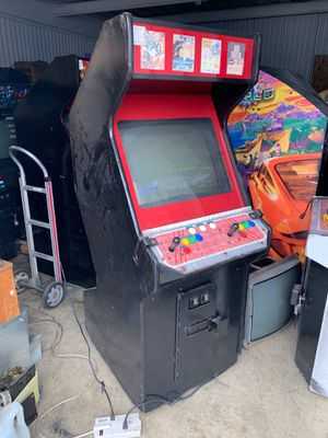 NEO GEO 4 slot arcade game 4 carts included for Sale in Fullerton, CA