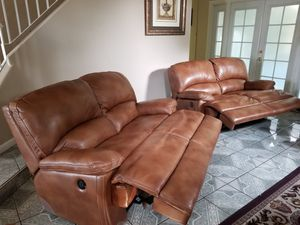 New reclining Leather sofas for Sale in Fresno, CA