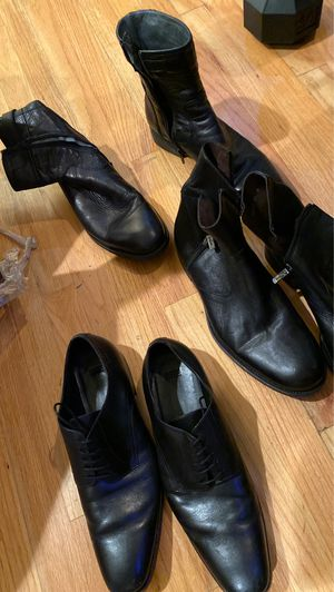 Men's dress shoes and boots 20 to 100 dollars. for Sale in Los Angeles, CA