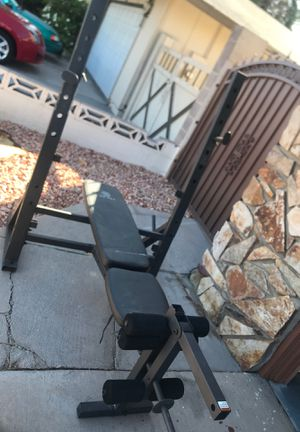 Weight rack/bench for Sale in Las Vegas, NV