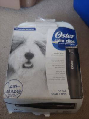 Oster hair clippers for Sale in Buckhannon, WV
