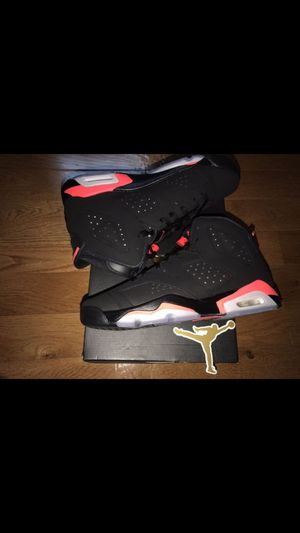 *NEW* (w/Receipt) 2019 Nike Air Jordan Retro 6 Infrared SZ. 7 (GS) for Sale in Alexandria, VA