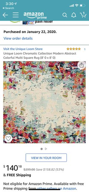 8X8 Area Rug for Sale in Glendale, AZ