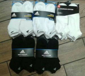Men's Adidas Socks ALL 5X pairs For 45$ for Sale in Kent, WA