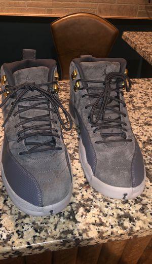 Jordan 12 dark gray for Sale in Garrison, MD