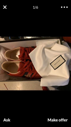 Gucci shoes (Red) for Sale in Hayward, CA