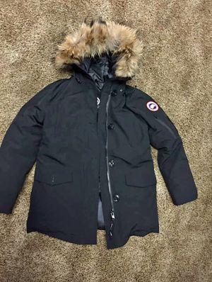 Montebello Parka Black Women Medium Canada Goose Jacket for Sale in Alpharetta, GA