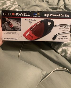 Bell and howell high powered car vacuum for Sale in Manassas, VA