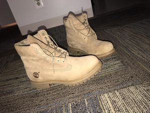 "Timberland Men's 6"" Premium Monochrome Boot Tan Size: 9.5 for Sale in Washington, DC"