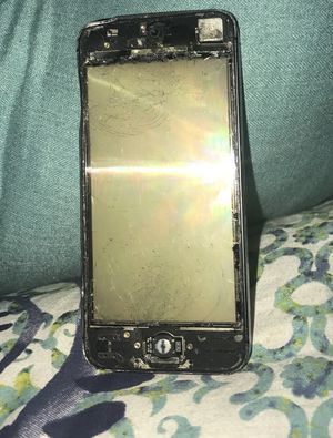 Black iPhone 5/5s (SELLING FOR PARTS ONLY) for Sale in West Springfield, VA