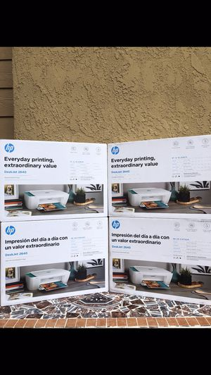 BRAND NEW FACTORY SEALED HP PRINTER INC ALL--ONE /WIRELESS*/PRINT /SCAN /COPY /WIFI HOME OFFICE FIRM$60EACH for Sale in Fontana, CA