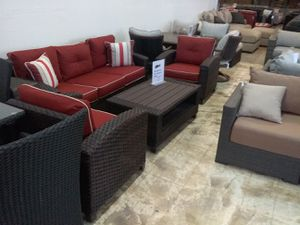 New 4pc outdoor patio furniture seating set tax included free delivery for Sale in Hayward, CA