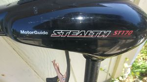 Stealth st170 motorguide trolling motor for Sale in Tacoma, WA