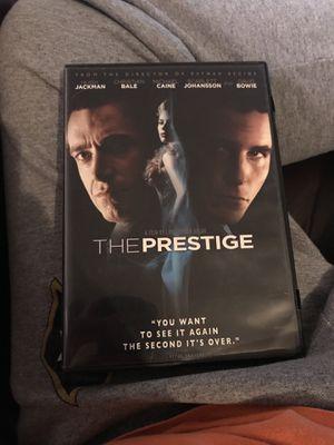 The Prestige DVD for Sale in Wichita, KS