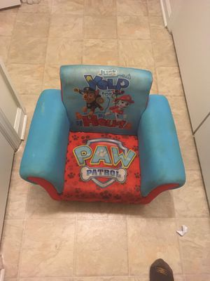 Paw patrol kids chair for Sale in Virginia Beach, VA