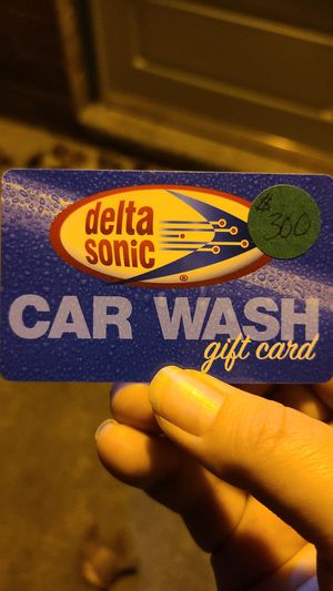 Delta Sonic Gift Card for Sale in Corfu, NY