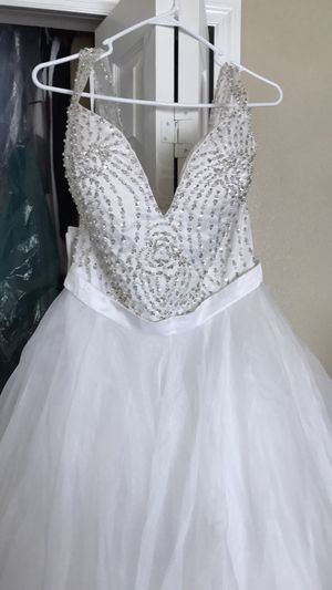 Wedding dress size 16 for Sale in Odessa, FL