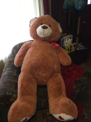 5 ft teddy bear for Sale in Norfolk, VA