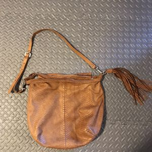 Gianni Chiarini Large Genuine Leather Hobo Bag With Tassel Made In Italy for Sale in Happy Valley, OR