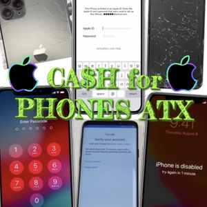 iPhone 8+ X XS Max 11 Pro Mini 12 for Sale in Austin, TX