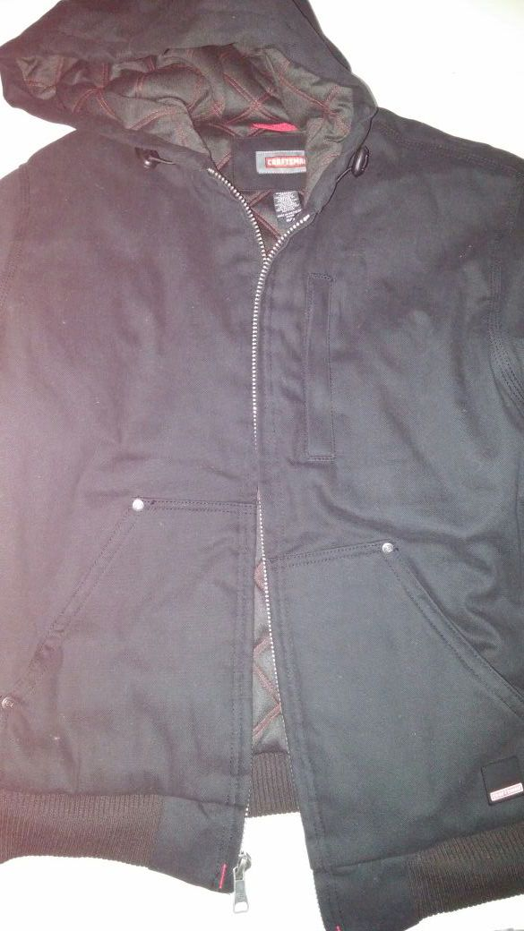 New hoodie quilted Teflon full lined winter coat