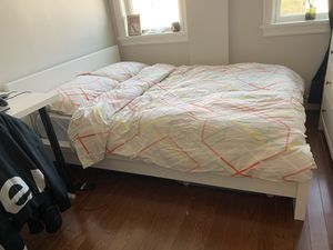 Ikea Malm bed frame and mattress for Sale in Brooklyn, NY