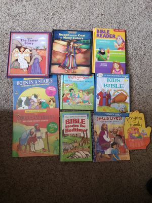 10 BIBLE STORY BOOKS for Sale in Columbia, SC