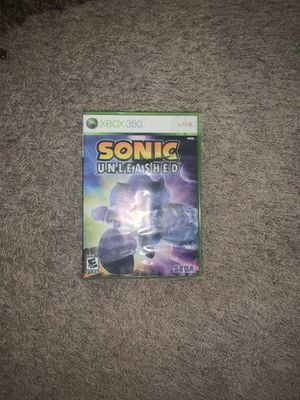 Sonic Unleashed Xbox 360 for Sale in Tucson, AZ
