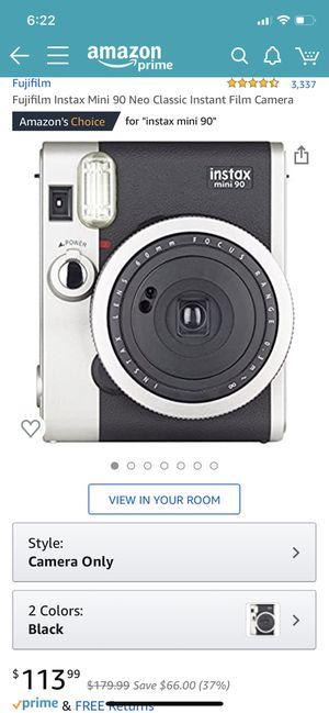 Fujifilm instax mini 90 neo classic for Sale in Chicago, IL