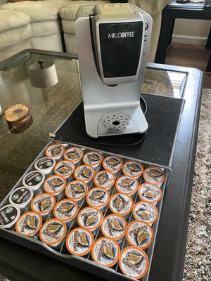Keurig, cups, and holder for Sale in Wilkes-Barre, PA