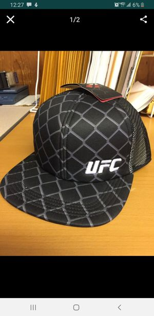 UFC Ring Rat Trucker Hats Cage Fighter MMA for Sale, used for sale  La Habra, CA