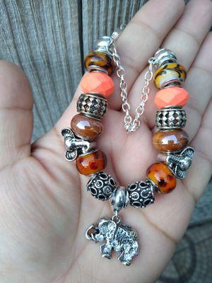 Elephant Pandora STYLE charm bracelet for Sale in Spring, TX