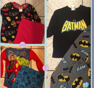 Sleepwear for boys size small 7/8 for Sale in South Gate, CA