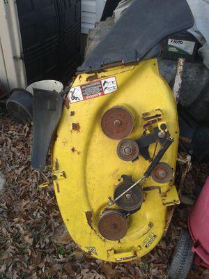 John Deere lawn tractor mower deck for Sale in Seaford, DE