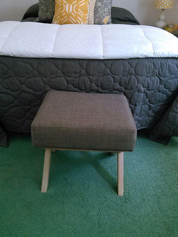 Small Grey footstool