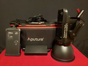 2 Aputure Light Storm cob 120t + Lightdome + Lantern Softbox + 3 Lights tands... for Sale in Los Angeles, CA