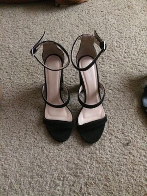 Black size 8 high heels for Sale in Imperial, MO