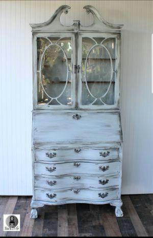 Vintage Shabby Chic Secretary desk! for Sale in Carlsbad, CA