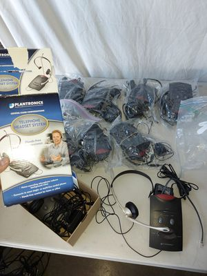 EACH Plantronics TELEPHONE HEADSET SYSTEM S11 for Sale in Lemon Grove, CA