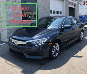 2018 Honda Civic $ 2500 Down Payment for Sale in Nashville, TN